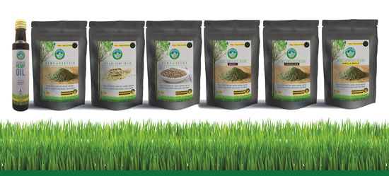 Organic & Natural Hemp Products